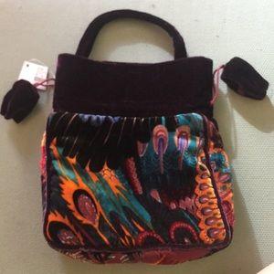 Handbags - Velvet tote